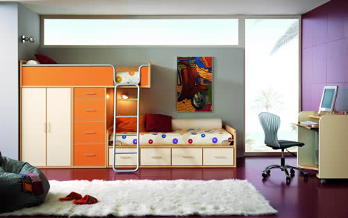 Habitaciones juveniles formica m xico - Disenar habitacion juvenil ...